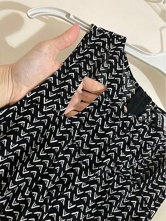 s Beden Günlük siyah elbise