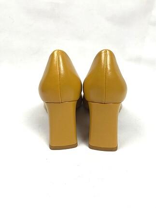38 Beden altın Renk Topuklu ayakkabı