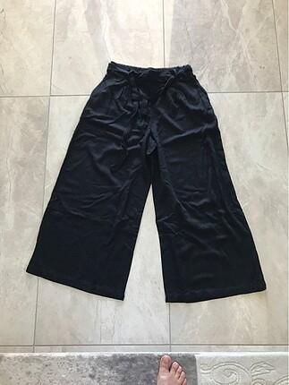 siyah salaş pantolon
