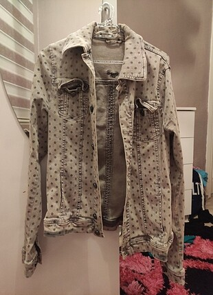 Puantiyeli ceket
