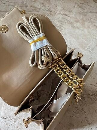Beden camel Renk Aldo askılı çanta