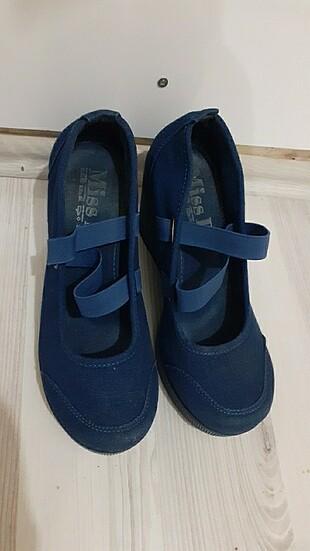 Dolgu topuk 36 numara bayan ayakkabi