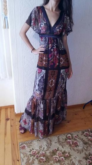 stradivarius sifon şık elbise