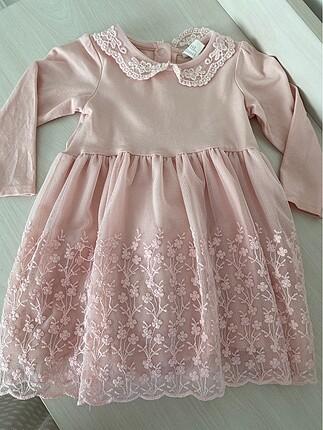 9 ay kiz elbise bebek