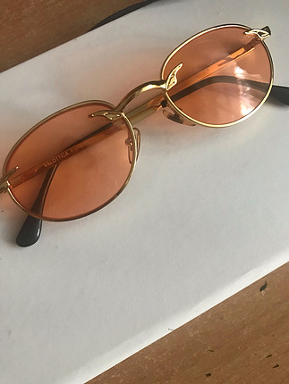 universal Beden turuncu Renk Vintage Gözlük
