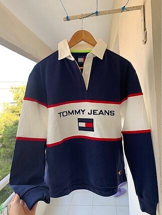 Tommy Hilfiger Orijinal Ruby Polo Shirt oversize bayan