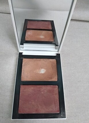 Bobbi Brown Cheek Glow Palette BRONZE SUN CREAM & MILK CHOCOLATE