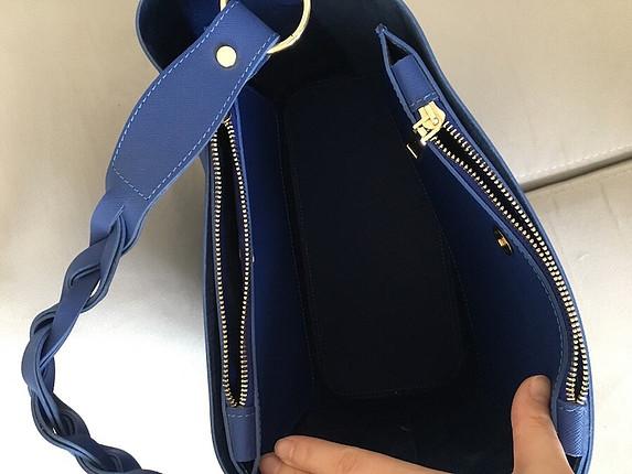 Çanta mavi