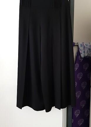 Siyah kesimi harika pantolon etek