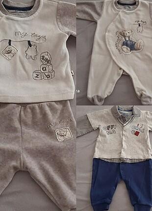 Aziz bebe.. Birer kere giyildiler.