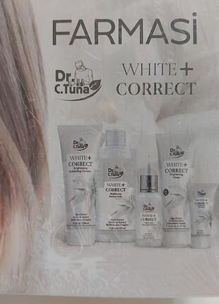Farmasi Farmasi Dr.C.Tuna white Correct leke serisi kutulu