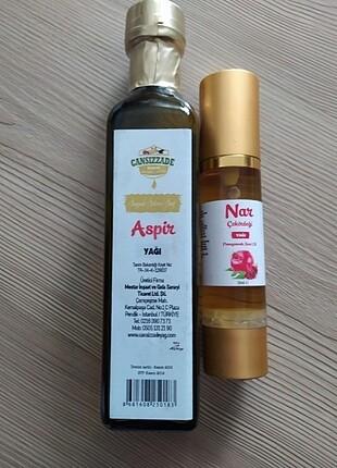 250 ml aspir yağı organik