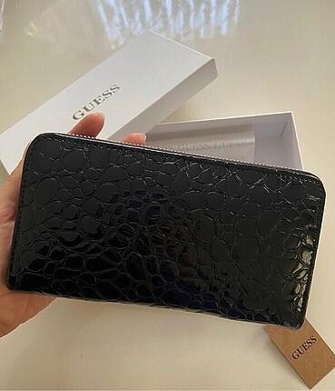 Beden siyah Renk Guess cüzdan