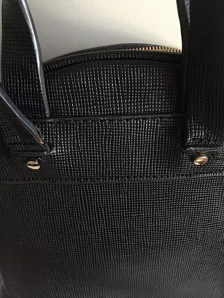 l Beden siyah Renk Zara sırt çantası