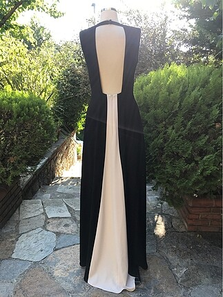 m Beden siyah Renk İki Renk Elbise