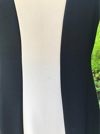 m Beden İki Renk Elbise