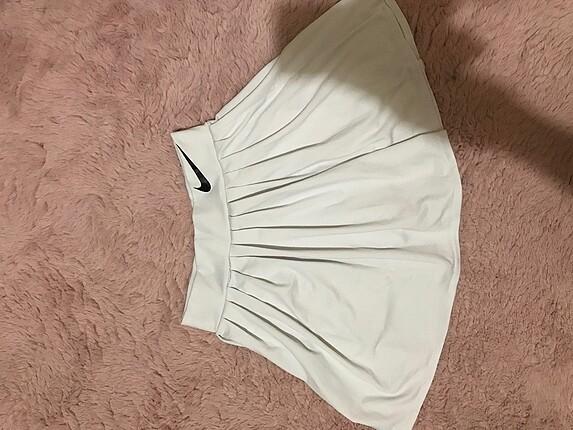 xs Beden beyaz tenis eteği