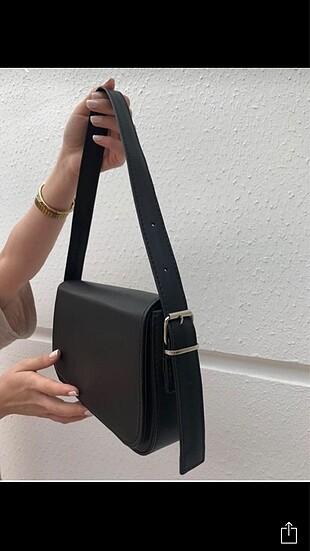 Beden Siyah baget çanta
