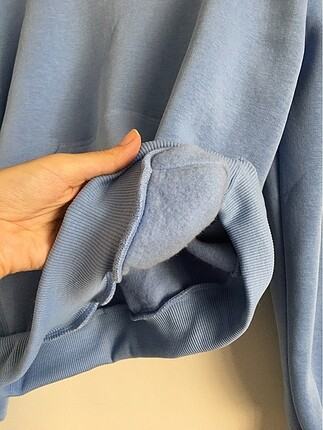 m Beden mavi Renk Sıfır sweatshirt