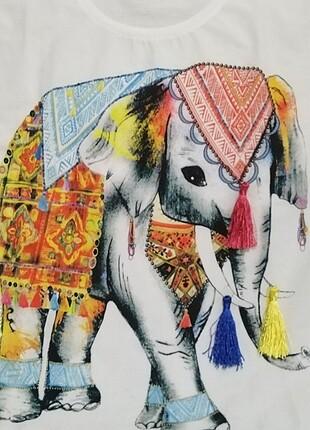 Fil baskılı tişört