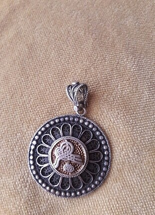 gümüş kolye ucu