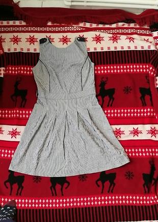 cizgili elbise