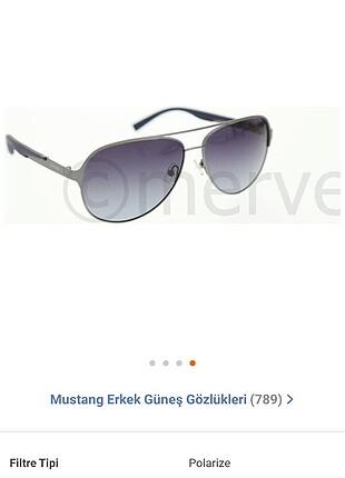 Mustang Erkek güneş gözlüğü