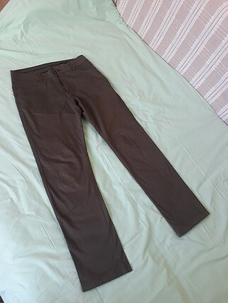 Erkek defacto keten pantolon