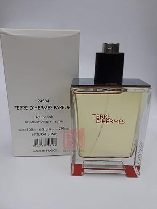 hermes terre d hermes 100 ml edt Erkek tester parfüm