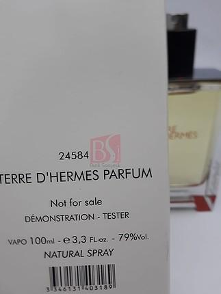 diğer Beden hermes terre d hermes 100 ml edt Erkek tester parfüm