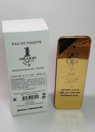 Paco Rabanne one milion 100 ml Erkek Tester Parfüm
