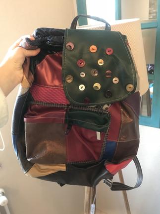 renkli sırt çantası