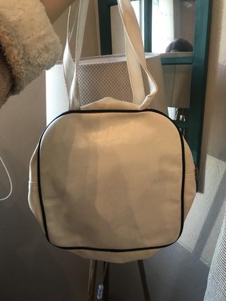tatlı sevimli beyaz çanta betty boop severlere