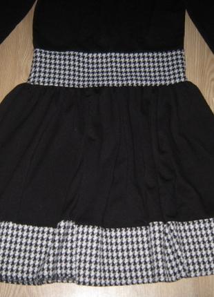 2829844ec7bc3 Mudo Siyah Beyaz Kışlık Tarz Elbise,38-40 Bedene Mudo Günlük Elbise ...