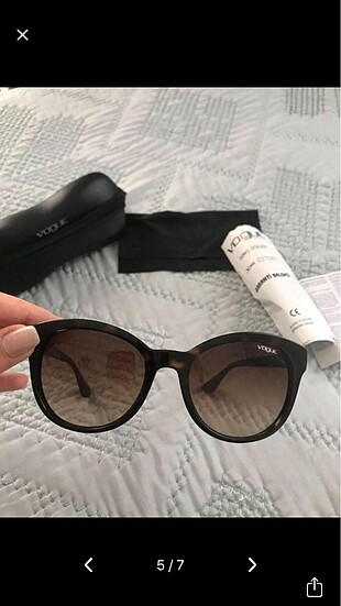 Vogue kahverengi kemik gözlük
