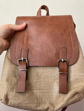Mango Hasır kadın çanta