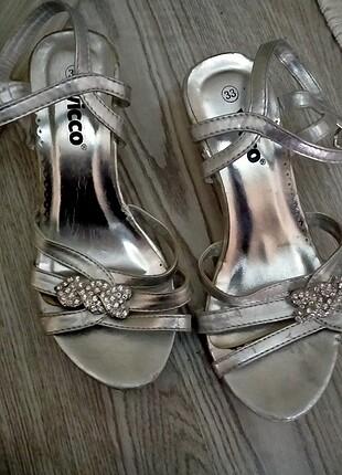 Çocuk düğün ayakkabısı