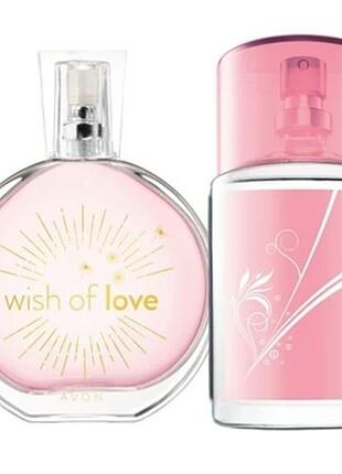 Avon wis of Love simple bayna set
