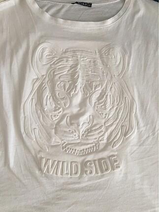 l Beden beyaz Renk Bayan tişört