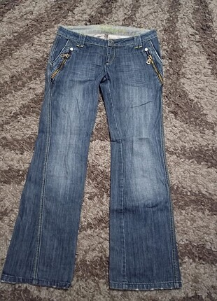 Crafted kot pants