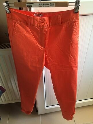 Turuncu bilek pantolon