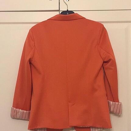 xs Beden turuncu Renk Blazer ceket