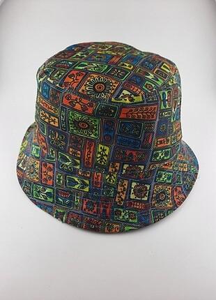Beden çeşitli Renk Bucket şapka