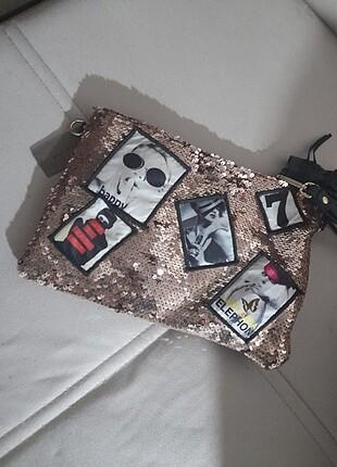 Çift görünümlü çanta