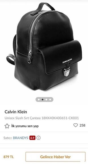 Calvin Klein Calvin Klein Sırt Çantası