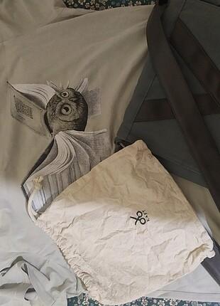 Kaft set çanta tişört