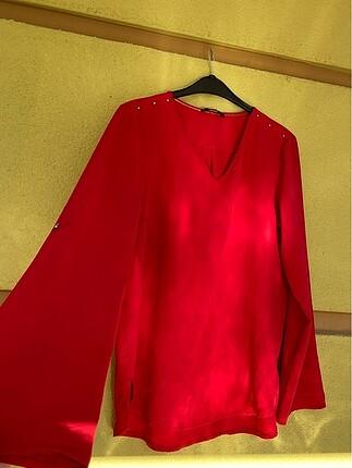 Setre kırmızı bluz