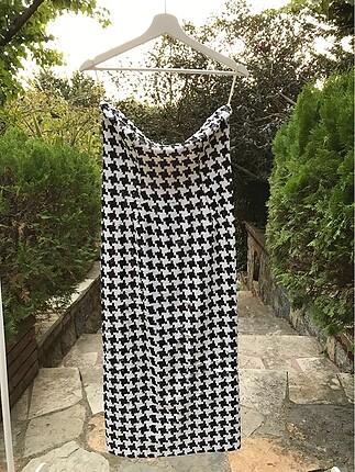 Straplez Tasarım Elbise