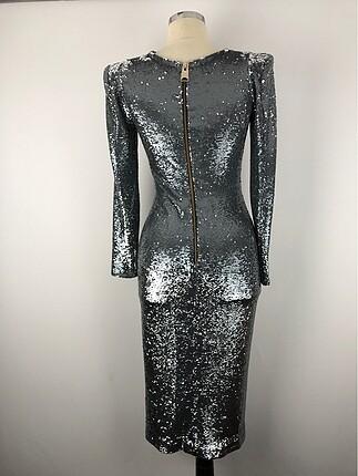 36 Beden Pullu Tasarım Elbise