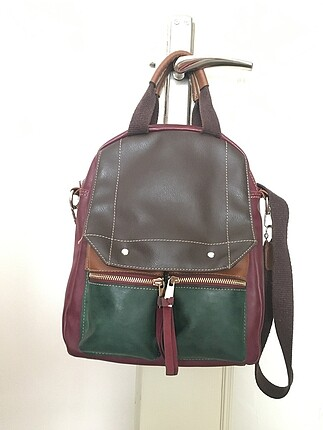 Beta deri sırt çantası